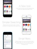 App store / smart search redesign concept iOS7 /8 by studiomonroe