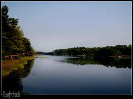 a lake in maine by scottchurch