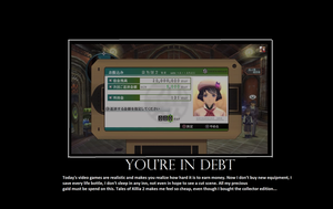 Tales of Xillia 2 - You're in debt! by Radiklement