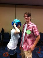 BRONY FAN FAIR - RINA CHAN and Discord's Voice by Discord-Drocsid
