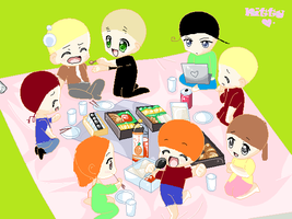 hetalia picnic real thing of this morning at 7:00 by robloxlittle