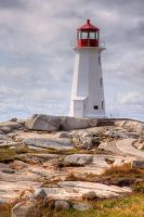 Peggy's Cove HDR by NHWoodman