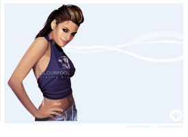 Eva Mendes by Colourfool