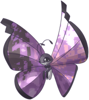 Custom Viviyon | Vivillon Commission by AutobotTesla