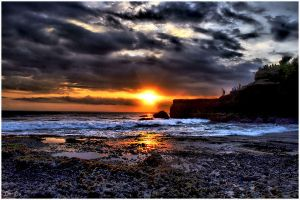 Sunset Of Tanah Lot by curioslife