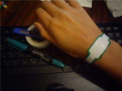 Tiger and Bunny Call WristBand by Rozi-R