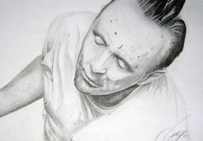 Hannibal Lecter Portrait by M-Infernum