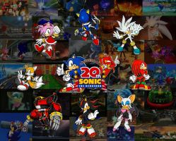 Sonic 20th Anniversary tribute by keyblademaster113