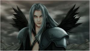 sephiroth colored version by sbel02