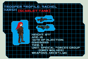 Pixel Concept Art Rachel Harsh by Luckymarine577