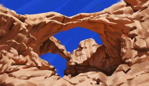 Double Arch (study) by Thorsten-Denk