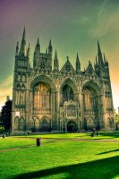 Peterborough Cathedral by Projecta6