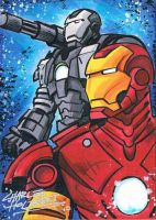 Iron Man and War Machine SC by KidNotorious
