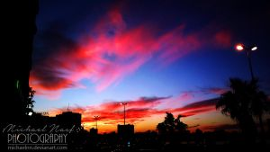 Colourful Sky by MichaelNN