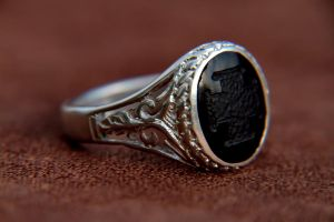 masonic Silver ring by manuroartis