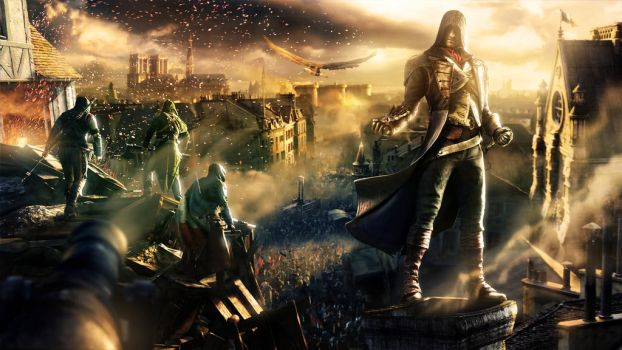 Assassin's Creed Unity by Lord-Corr