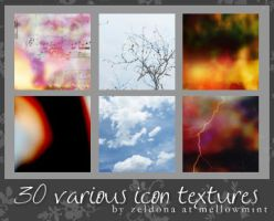 30 various icon textures by mellowmint