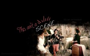 This ain't a scene wallpaper by batbeater