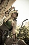 Green Arrow Female Cosplay by karollhell