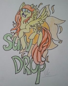 SunDrop by TheEpicWingedWolf