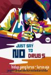 SAY NO TO DRUG'S WPAP by mophfie