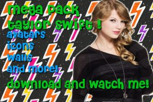 Request MegaPack Taylor Swift by xXSuperPopXx