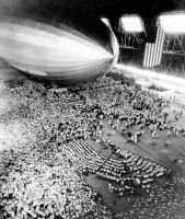 USS Akron inside the airship dock in Ohio, Akron by FCARVALLO