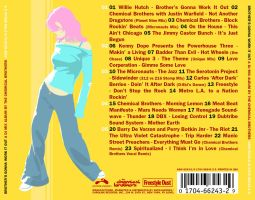 Chemical Brothers CD Backcover by thereverend3k