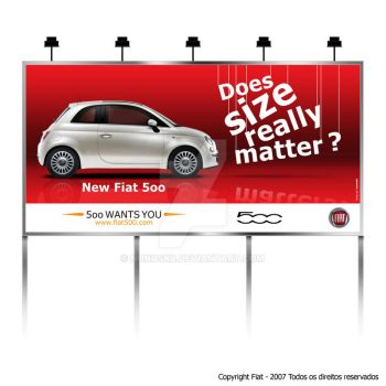 Outdoor Fiat500 by Nunosk8