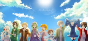 KagerouProject// SUMMER TIME RECORD by Sternenmelodie