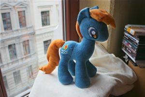 MLP Plushie Contest - Waterfire Plushie by Siora86