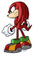 Knuckles doodle by rongs1234