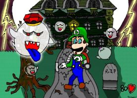 luigi's mansion by ruseau