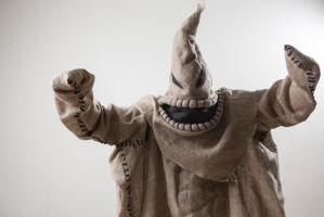 Oogie Boogie cosplay by shadow-in0time
