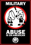 Military Abuse - Sign by Guam-Zombie