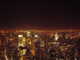 New York from Empire State by mindgameuk