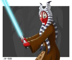 Shaak Ti by Nefarei
