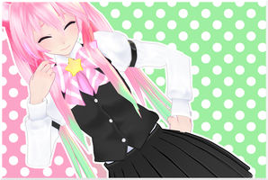 MMD School Nana WIP by nyanami
