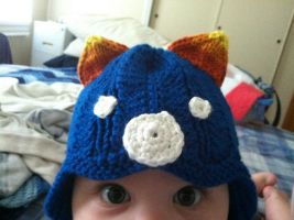 Baby Nepeta Hat by playswithstring