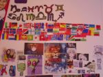 Hetalia flags and other stuff on my wall by legoninjagogirl