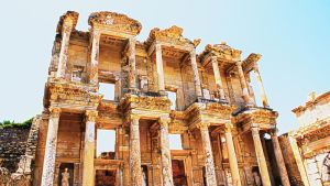 library of Celsus by xMetalHeartx