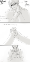 Hetaoni-- song comic --- SAFE and SOUND by aphin123