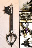Oblivion Keyblade by Sephiroths-Shadow
