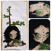 .:Fairy Cross Stitch by ginkgografix