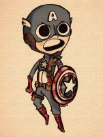 Captain America by CayleyAlaina