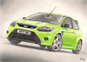 Ford Focus RS by Morthiasik