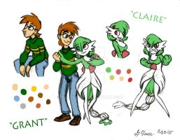 Grant and Claire by Dipodomys7