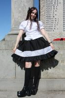 A gothic lolita day out by Destinys-spirits