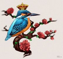 Kingfisher by kajoi