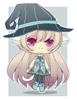 [CLOSED] Neko Witch Auction by WanNyan